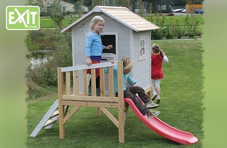 אולטרה מידי בית עץ לילדים - דגם רני בזול - הענק הירוק MM-41